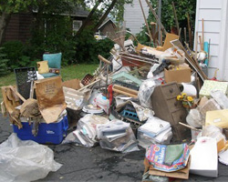 Evergreen garbage removal and hauling